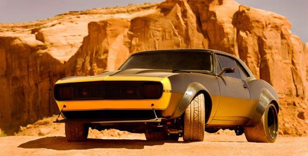 Bumblebee will be disguised as a 1967 Chevy Camaro in TRANSFORMERS 4.