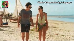 Flavia Alessandra sensual no filme Nada Vai dar Certo
