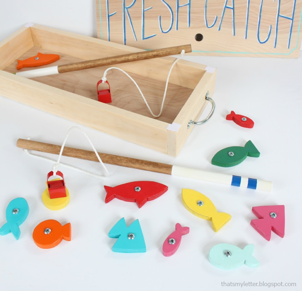 Ana White Wood Toy Fishing Game Diy Projects