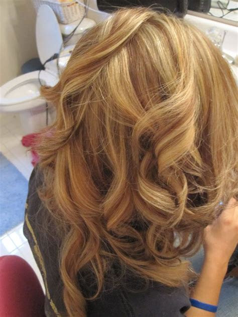 special techniques   blonde hair  auburn