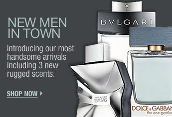 NEW MEN IN TOWN. Introducing our most handsome arrivals including 3 new rugged scents. SHOP NOW >