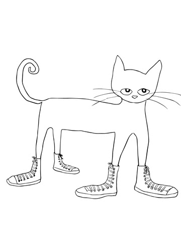 66 White Cat Coloring Pages For Free