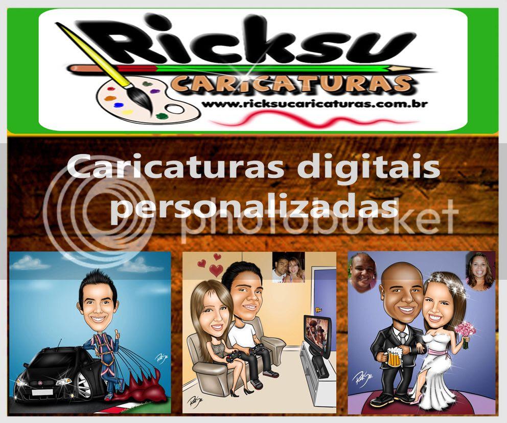 Esta imagem tem um link para a ricksu caricaturas