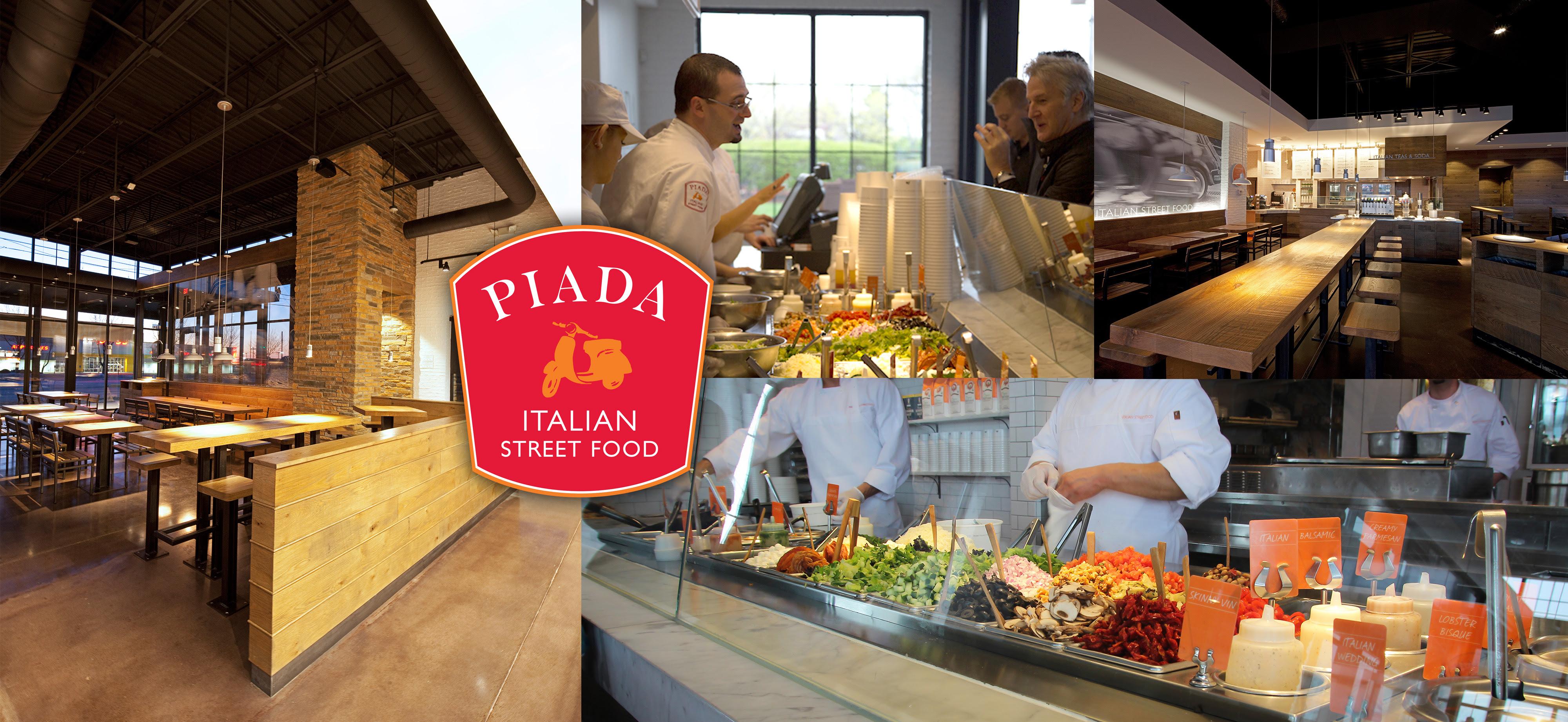 Piada Italian Street Food Opening 4 Restaurants in ...