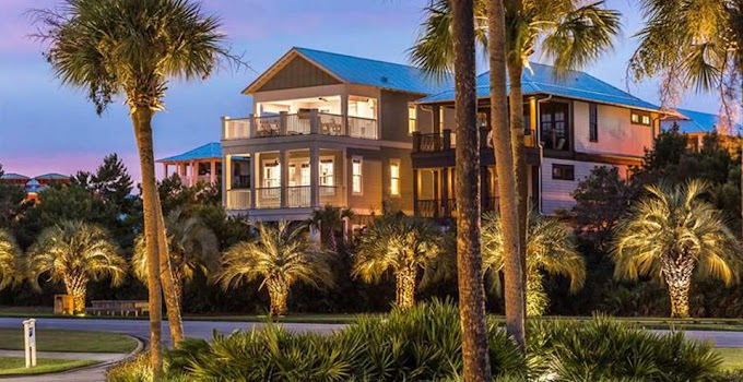 Beachfront Vacation Rental Homes In Florida Panhandle
