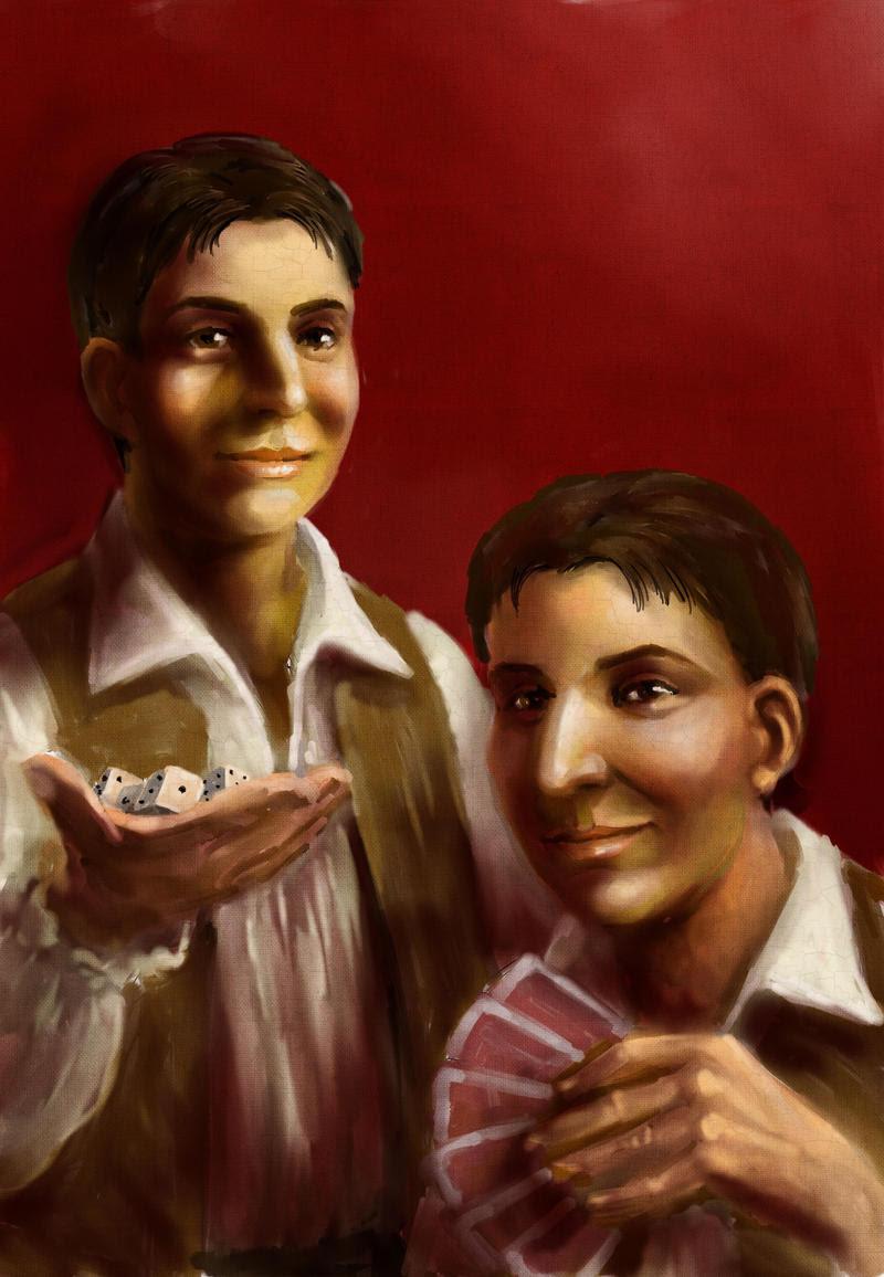 The Sanza Twins by TolmanCotton