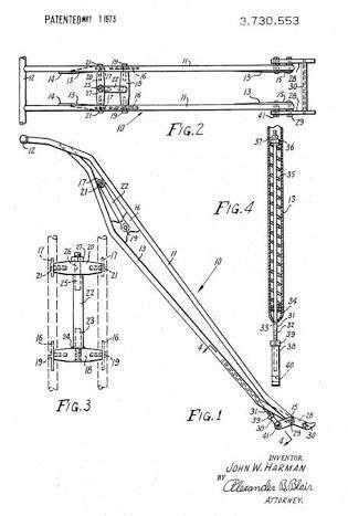 Image result for blueprint for girder front end and harley