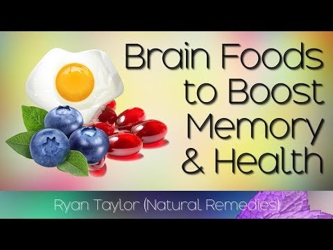 Brain Foods for: Memory