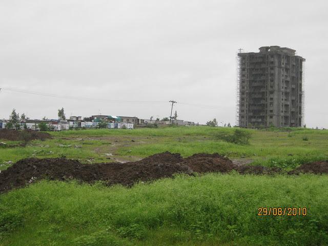 A building of Elite Homes Tathawade Wakad Pune