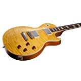 Gibson Les Paul Standard Plus Left Handed Trans Amber