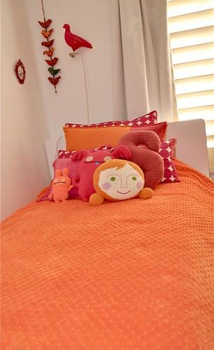 Stella's bed