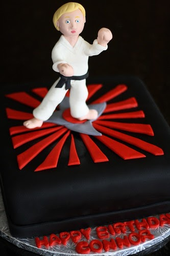 Baker S Cakes Karate Birthday Cake