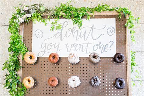 Wedding donut wall   Wedding & Party Ideas   100 Layer Cake