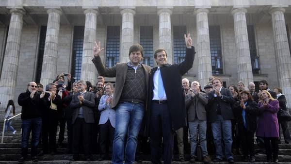 Leandro Santoro será vice de Mariano Recalde, en la fórmula del kirchnerismo en la ciudad. (DyN)