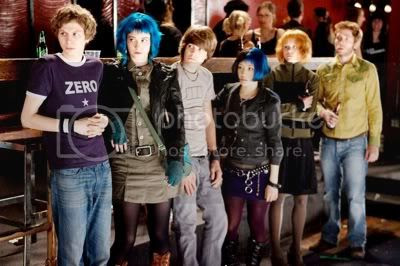Scott, Ramona, Young Neil, Knives, Kim y  Stephen