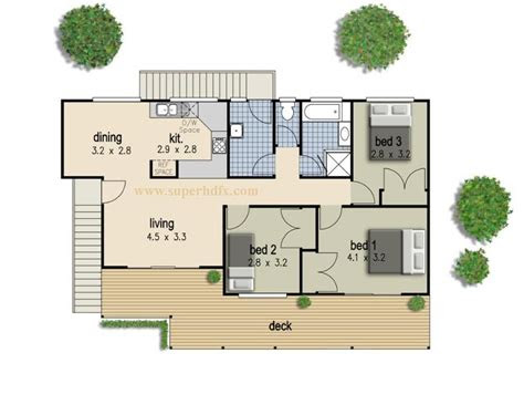simple bedroom house plan home autocad design bedrooms