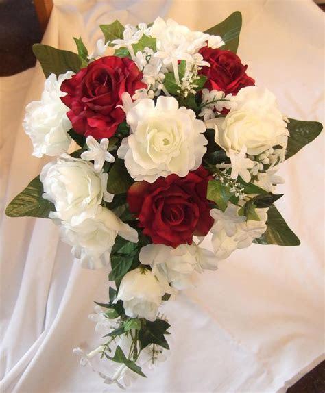 Wedding Flower Bouquets   Flower Ideas   Burgundy and