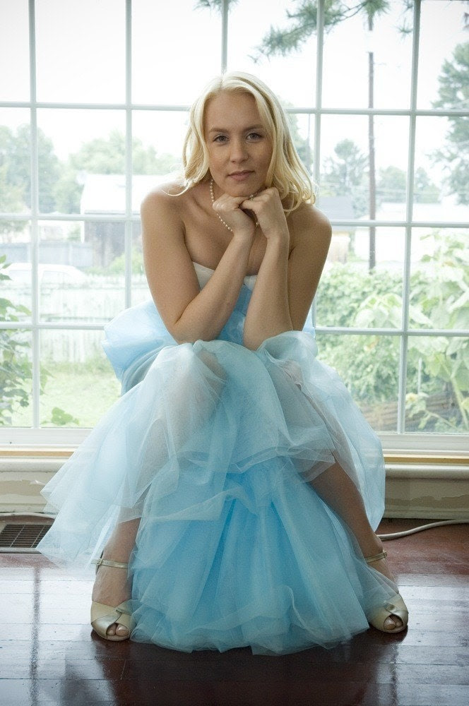 Here Comes The Bride - Long A-line Tulle Wedding Petticoat in many colors - SwankUnderpinnings