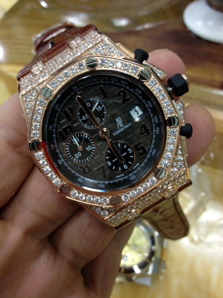 Audemars Piguet Diamond Watch 4