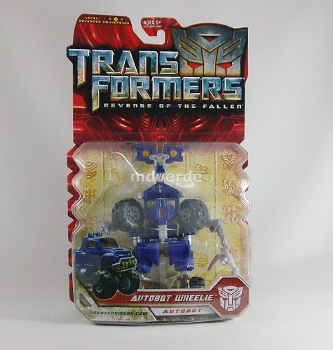 Transformers Autobot Wheelie RotF Deluxe - caja
