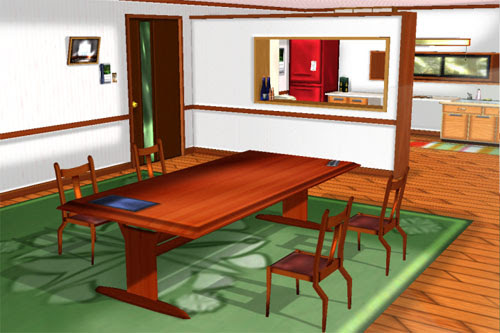 MMD Private Room 2