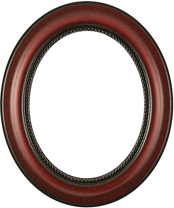 Laurel Vintage Cherry Oval Picture Frame
