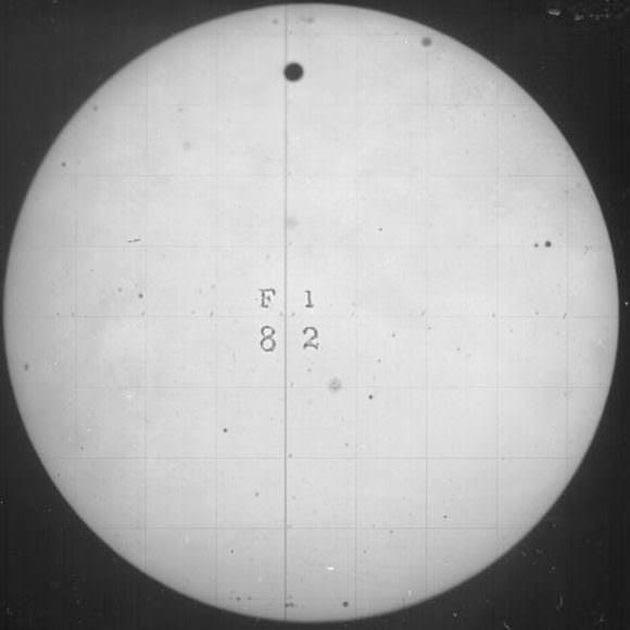 The 1882 transit of Venus.