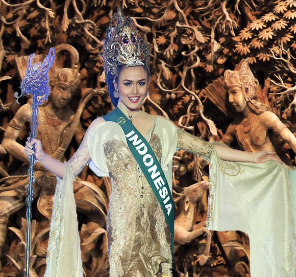 OPINION :: The Indonesian culture shines through at the national costumes  Missosology