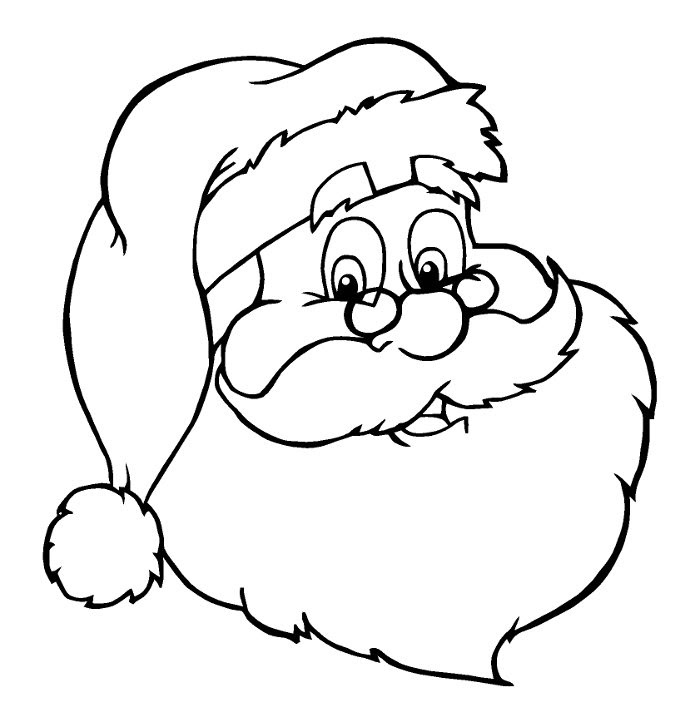 Dibujo Para Pintar De Navidad