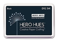 Hero Arts DYE Ink Pad BLACK AF101