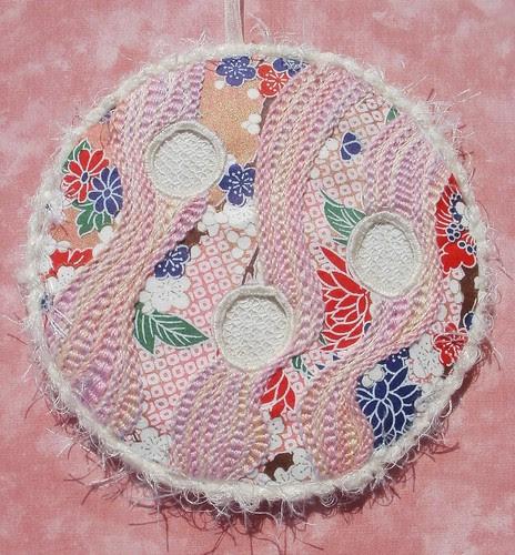 Pekinese stitch ornament
