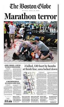 ATENTADO EM BOSTON Cobertura revela importância dos jornais locais