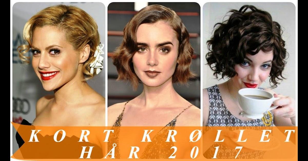kort krøllet hår kvinder