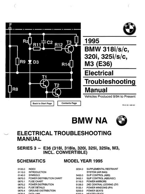 e36 Electrical