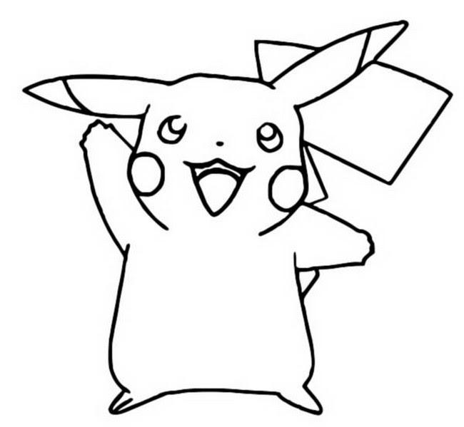 Dibujos Para Colorear Pokemon Pikachu Dibujos Pokemon