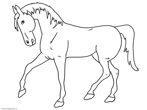 horse coloring pages  kids  printable coloring