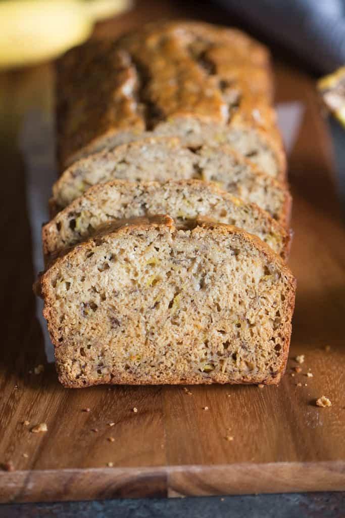 Skinny Banana Bread - Tastes Better From Scratch