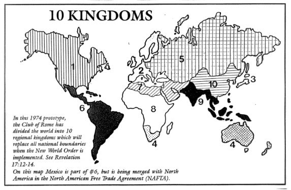 world divided into ten kingdoms