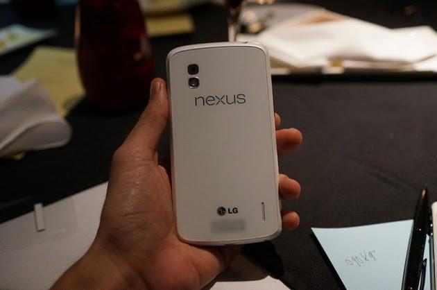 android google lg nexus 4 blanc