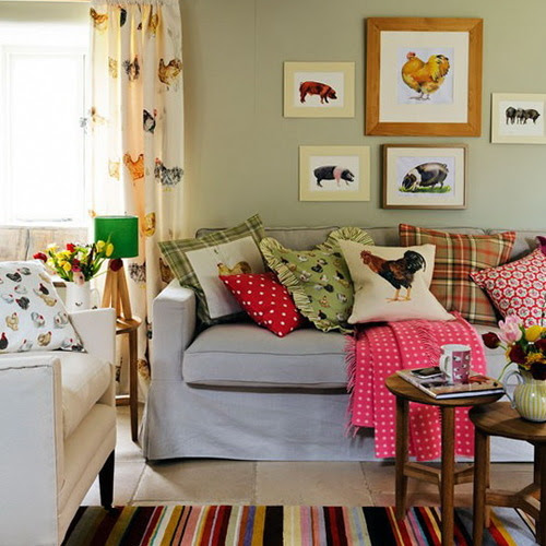 Country Living Rooms – Decorating Ideas | Ideas for Home Garden ...