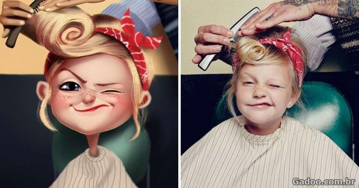 Artista transforma fotos comuns em impressionantes ilustrações