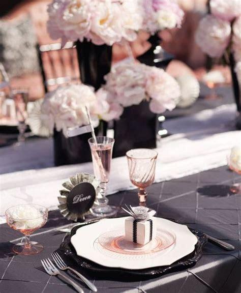 30 Chic Blush And Black Wedding Color Theme Ideas   crazyforus