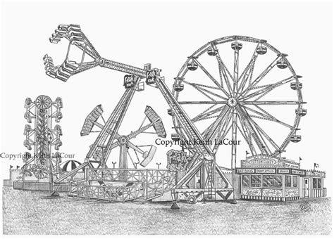 keiths carnival ride drawings  album  flickr
