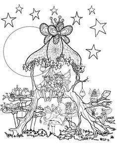 garden fairy coloring pages at getcolorings  free printable colorings pages to print and color