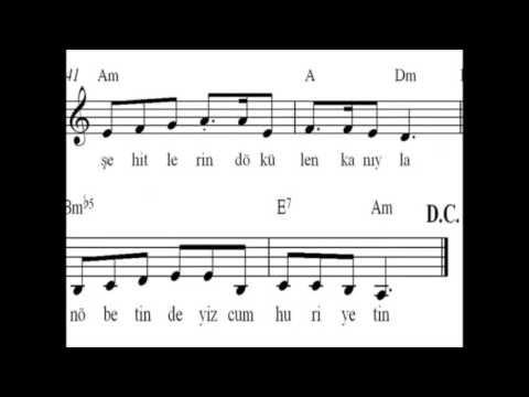 Cumhuriyet Valsi Şarkı Sözleri