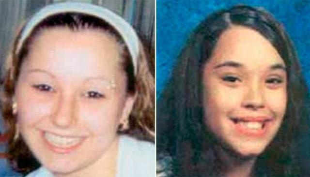 Amanda Marie Berry y Georgina Lynn, dos delas jóvenes halladas hoy. REUTERS