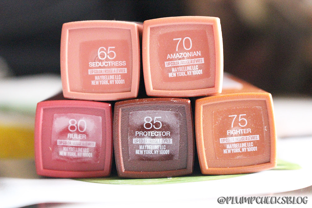 Maybelline Superstay Matte Ink Swatches Ruler