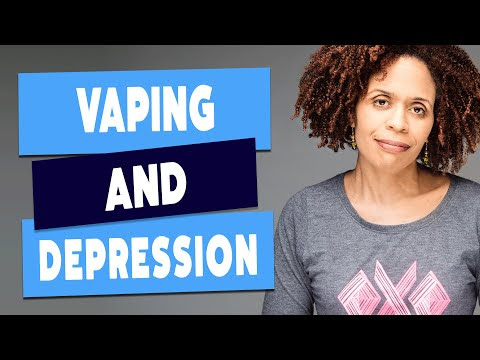 Vaping Increases The Risk of Depression