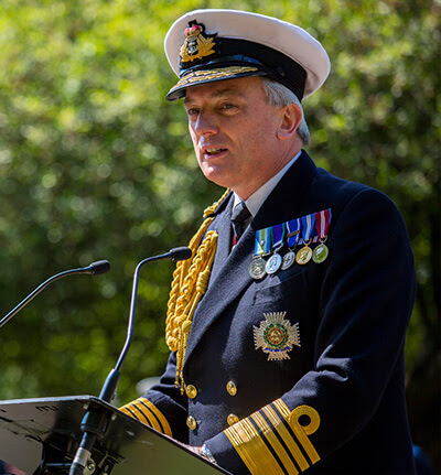First Sea Lord, Admiral Philip Jones