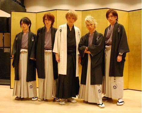 Alice Nine Holds Live at Akagi Shrine
